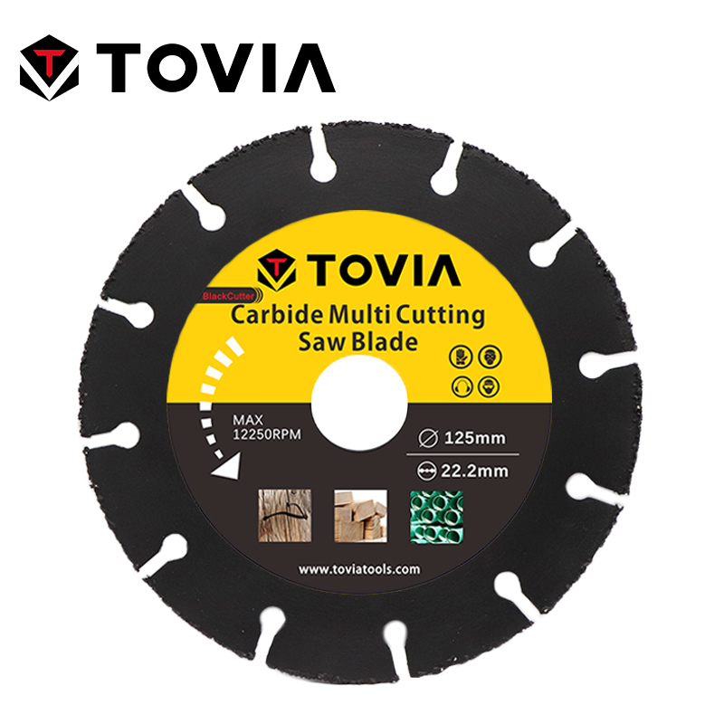 TOVIA 125mm Carbide Saw Blades Wood Cutting Disk Cutting Wood Saw Disc Multitool Wood Cutter Angle Grinder For Wood
