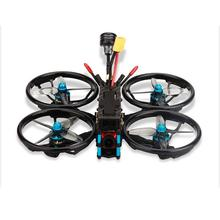 Hglrc sector150 zeus35 aio 600mw caddx ratel 1408 3600kv2400kv 4S/6s 3 polegada fpv racing freestyle cinewhoop duto drone