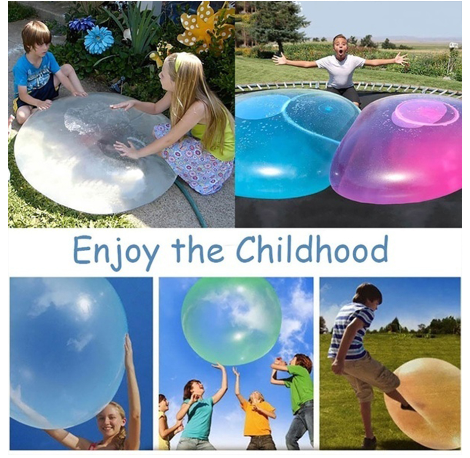Air/Water Inflatable Jelly Balloon Ball Outdoor Toy 3