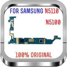 100% Được Kiểm Tra Bo Mạch Chủ 16GB Mở Khóa Cho Samsung Galaxy N5100 / N5110 N5120 Mainboard Với Chip Logic Bảng Hệ Thống Android