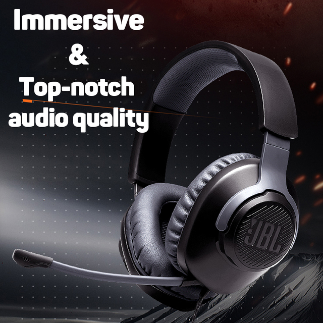 JBL QUANTUM100 Gaming Headset 7.1 with Mic 5