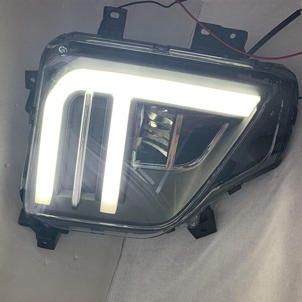 2019 triton L200 FÜHRTE nebel lampe zwei LED farbe lauf LED foglight montage kostenloser versand