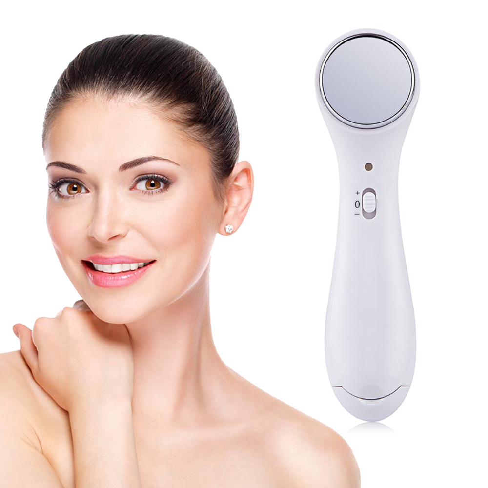 Electric Anti-aging Machine  Iontophoresis Ultrasonic Facial Beauty Device Ion Facial Cleaner Wrinkle Removal Skin Lift Massager