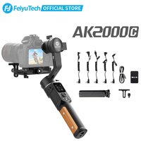FeiyuTech-estabilizador plegable AK2000C de 3 ejes para cámara DSLR, cardán, para Sony, Panasonic, Canon, Fujifilm