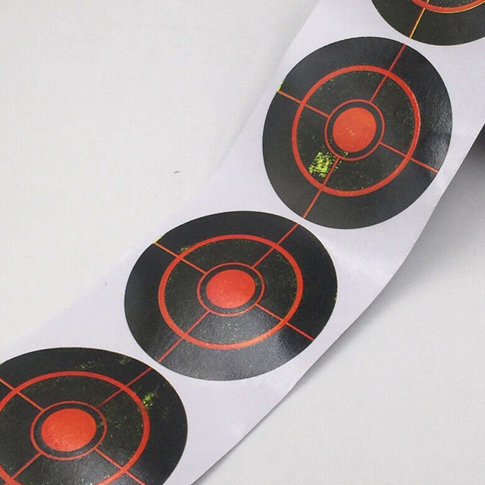 100/250pcs/roll Splatter Targets Sticker Shooting Practice Props Self-Sticking Paper For Winter Hunting Gun Accessories