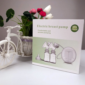 Image 3 - ZIMEITU Electric breast pumps baby bottle Powerful Nipple Suction USB Electric Breast Pump with baby milk bottle  Pad Nipple