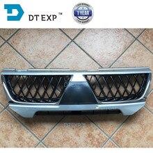 Nieuwe Grille Voor Pajero Sport Bumper Netto Voor Montero Sport Challenger Grille Voor Nativa Chrome Cover
