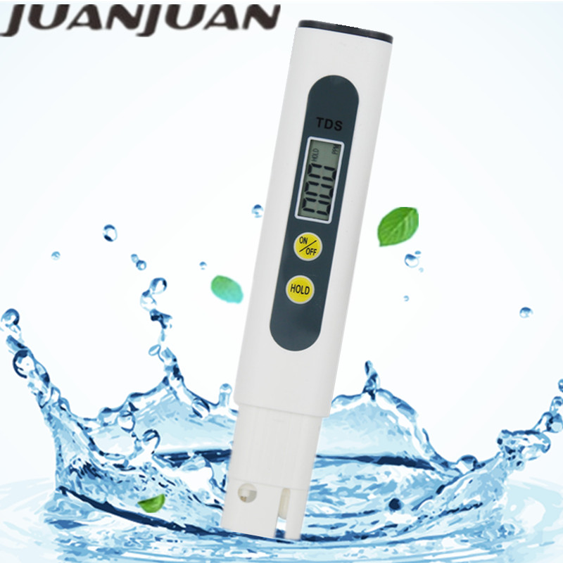 TDS Meter Digital Water Quality Tester Automatic Correction Portable Cute 0~990ppm Measurement Range For Aquariums 40%Off