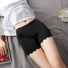 Lingerie Boxer-Shorts Safety-Pants Female Underwear Anti-Lighting Ice-Silk Women Summer