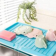 Новая чаша сушилка для чашек Раковина Для Мойки Посуды сливной пластиковый лоток столовые приборы фильтрующая пластина для хранения стеллажей полка сливная доска кухонные инструменты раковина