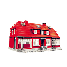 LegoEDS city street view World famous Architecture 17004 17006 17011 Building Blocks Bricks Toys For Children Model kits Gifts