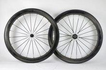 Mais novo 454 700c 58mm moonscape bicicleta de estrada cheio carbono clincher tubular jantes rodado ondulado ondulado do carbono do corvo navio livre