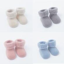 Носки детские Резиновые Нескользящие на возраст 0 6 12 месяцев