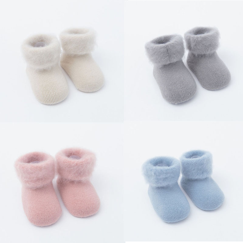 Baby Socks Rubber Anti Slip Floor Cartoon Kids Toddlers Autumn Winter Fashion Thick Newborn Cute 0-6-12month