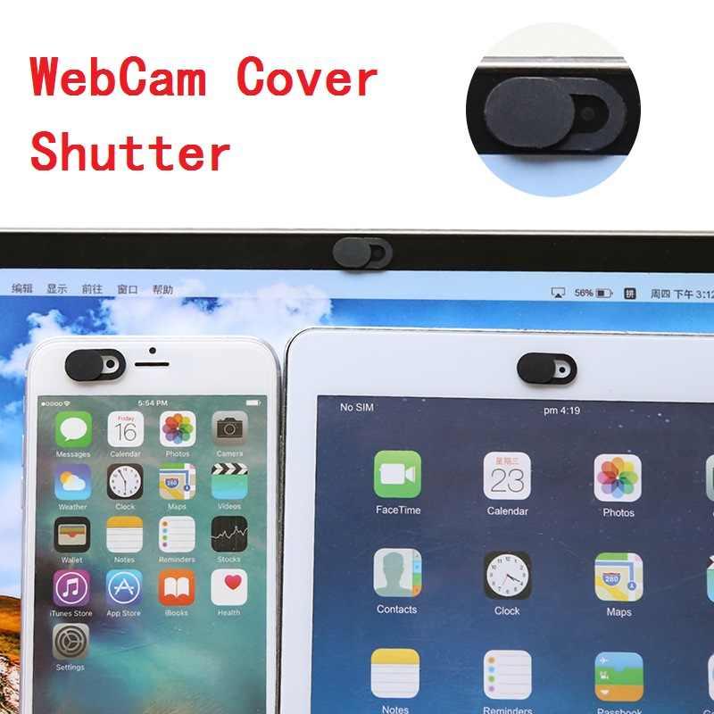 Webcam Camera Trước Cho iPad Cho iPhone Samsung Chống Hack Laptop Bao Da Máy Ảnh Chụp Nam Châm Thanh Trượt Nhựa Webcam bao Da