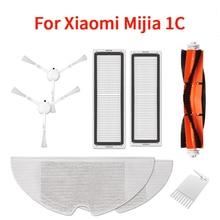 XIAOMI MIJIA sweeping and mopping robot vacuum cleaner 1 accessory kit kit side roller HEPA filter main brush mop Main brush box