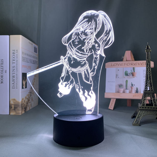 16 COLOR WITH REMOTE FAIRY TAIL 3D LED LAMP