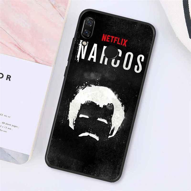 Maiyaca Narcos TV serisi Pablo escobar xiaomi için telefon kılıfı Redmi4X 6A S2 gitmek Redmi 5 5 artı Note4 Note5 7 Note6Pro