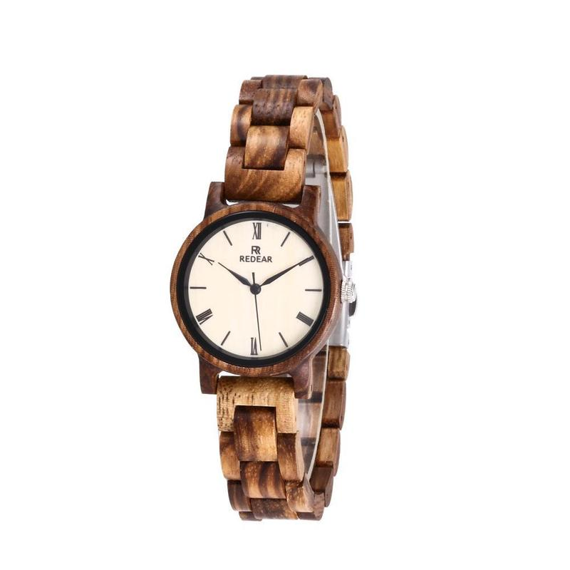 2020 Ms Zebra Wood Factory Spot New Small Dial Watch A Undertakes To Amazon Hot Style Wooden Table