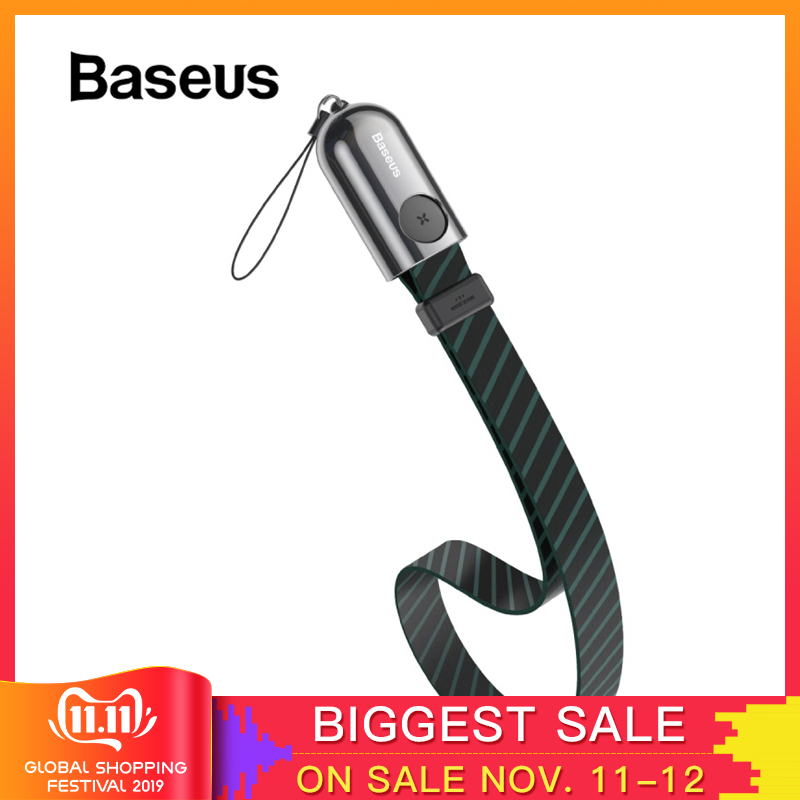 Baseus USB Cable for iPhone XR XS Max 11 Pro 2.4A Fast Charging USB Data Cable Portable Charger Cable for iPhone X 8 7 Plus Wire-in Mobile Phone Cables from Cellphones & Telecommunications on AliExpress - 11.11_Double 11_Singles' Day