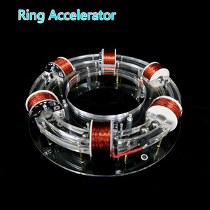 Image 2 - טבעת מאיץ ציקלוטרון ההייטק צעצוע פיזי דגם Diy ערכת ילדי מתנת צעצועים