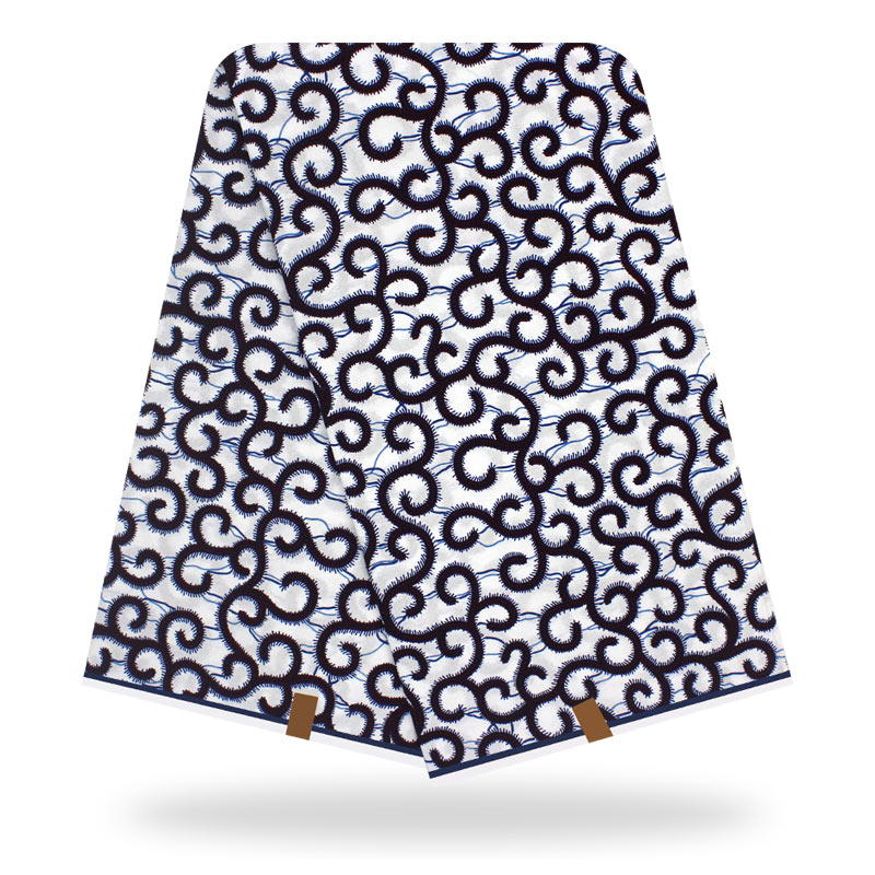 2020 African Wax Prints Fabric Nigeria Dutch Veritable Wax 100% Cotton 6 Yards Ankara Cotton Material For Dress