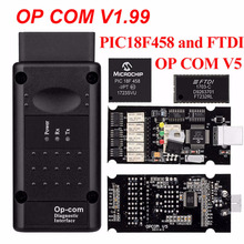 OP COM opcom V1.99 With real PIC18F458 FTDI op-com OBD2 Auto Diagnostic tool for Opel GM OPCOM CAN BUS V1.7 can be flash update p graener variationen uber ein russisches volkslied op 55