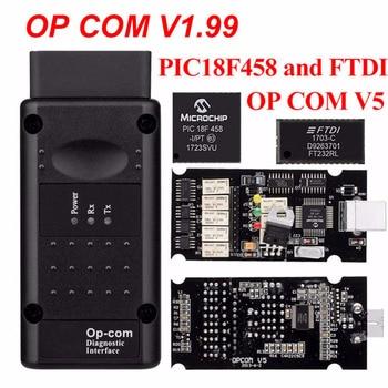 OP COM opcom V1.99 With real PIC18F458 FTDI op-com OBD2 Auto Diagnostic tool for Opel GM OPCOM CAN BUS V1.7 can be flash update op com opcom v1 99 with real pic18f458 ftdi op com obd2 auto diagnostic tool for opel gm opcom can bus v1 7 can be flash update