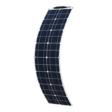 XINPUGUANG  PET flexible Solar Panel 50w 1060 solar Cell charger 12v MonocryStalline Module car Battery RV boat outdoor home kit boguang 50w glass monocrystalline solar power station solar cell factory cheap selling 12v solar panel for home battery charge