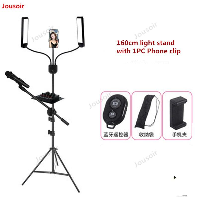 60W LED lumière photographique Stepless gradation maquillage beauté lumière sourcil tatouage lampe Studio vidéo lumière avec trépied CD50 T03 - 2