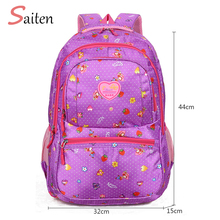 Waterproof Oxford Flower Printed Backpack for Teenages Girl Female School Bags New Anti-theft Vintage Flower Embroidery Backpack allover vintage flower print backpack black