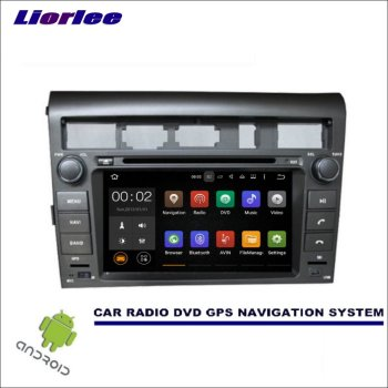 Liorlee Wince/Android Car Multimedia Navigation System For Kia Amanti/Opirus 2007-2010 CD DVD GPS Player Navi Radio Stereo HD недорого