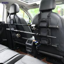 Booms Fishing VBC Fishing Rod Holder Carrier for Vehicle Backseat Holds 3 Poles Car Organizer