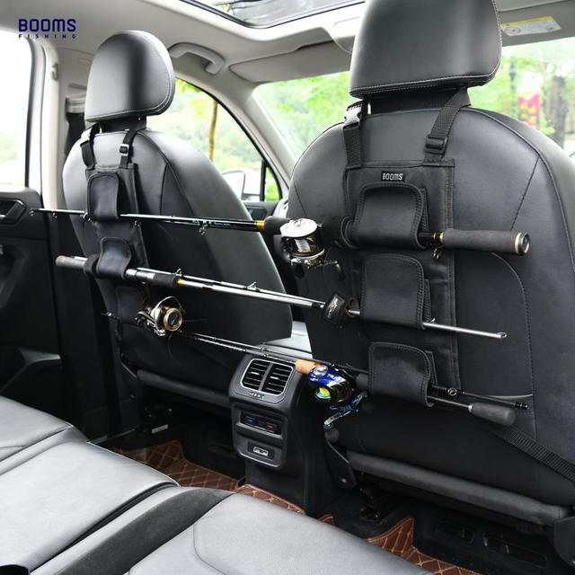 Wysięgniki wędkarskie VBC uchwyt na wędkę przewoźnik na tylne siedzenie pojazdu posiada 3 bieguny organizator samochodu