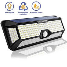 ไฟLEDกับMotion Sensorพลังงานแสงอาทิตย์โคมไฟสวนกันน้ำกลางแจ้งแผนที่Streetโคมไฟluminaria Nightlight