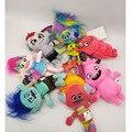 Hasbro, Тролли, мировой тур, плюшевые куклы, игрушки из ПП хлопка, Мягкие Аниме куклы, Тролли, маковая ветка, Мультяшные фигурки, плюшевые игрушк...