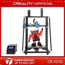 Creality 3d CR-10 v3 impressora tamanho 300*300*400mm, tmc2208 silencioso mainboard currículo impressão, bl toque opcional (não pré-instalado)