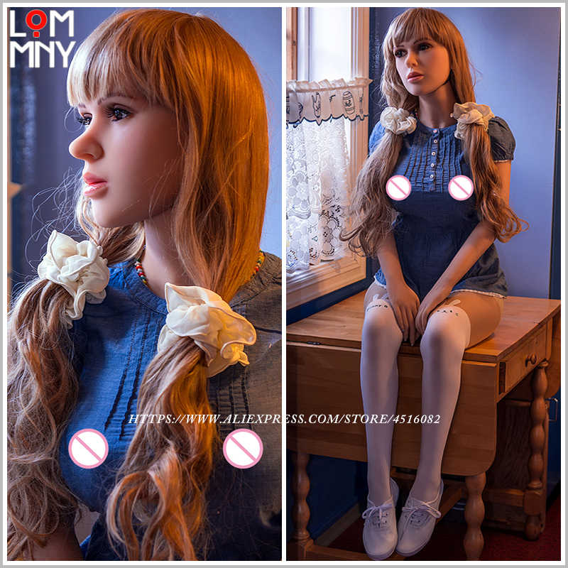LOMMNY 168cm Real Silicone Japanese Sex Dolls Robot Lifelike Big Breast Sexy Love Doll Oral Vagina Anal Realistic Adult for Men