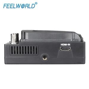 Image 5 - FEELWORLD S350 3,5 zoll EVF 3G SDI HDMI Elektronische Sucher 800x480 LCD Display Lupe Lupe für DSLR Kamera