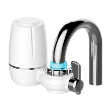 цена на Hight Quality kitchen Faucets Filter Tap water filter Household water purifier washable Ceramic filter Mini water purification
