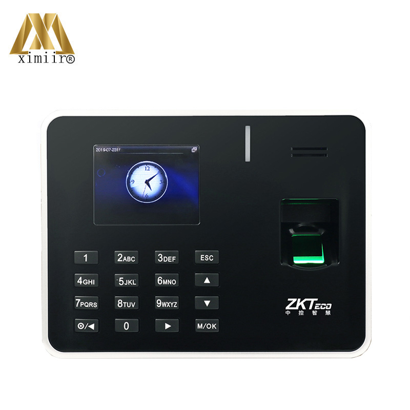 New Arrival ZK Biometric Fingerprint Time Attendance TCP/IP Time Attendance Machine K50 Fingerprint Reader Device