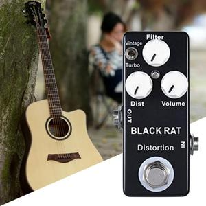 Guitar Mini Effects Zinc Aluminum Alloy On / Off LED Indicator Analog Signal Path Replace Guitar Accessories