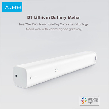 Aqara B1 Smart Curtain Wireless Motor Remote Control Smart Motorized Electric Timing APP Mihome Smart Home Ecosystem Product