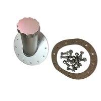 Kütük yakıt hücresi hızlı doldurma dolgu boyun 45 derece 12 cıvata flanş alüminyum şerit