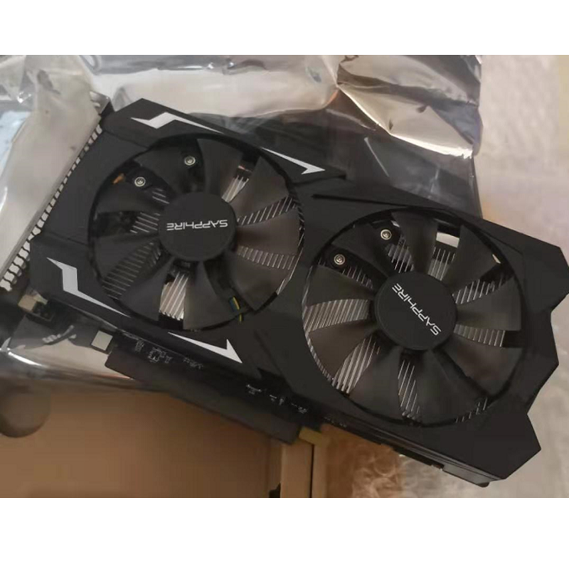 SAPPHIRE RX 560 4GB Video Card GPU Radeon RX 560D 4G RX560 RX560D Graphics Cards Computer Game For AMD Video Card Map HDMI PCI-E 6