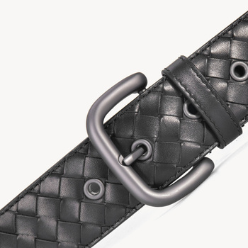Leather Belt Men High Quality Cow Genuine Leather Waistband Luxury Strap For Male Belts Fashion Alloy Buckle Belt Men 5