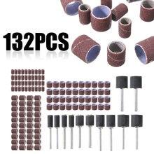 132 шт шлифовальные ленты dremel многофункциональная наждачная