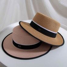 Hot Sale Flat foldable sun Hat Summer Spring Womens Travel Caps Female Casual Panama Lady Breathable Fashion Beach