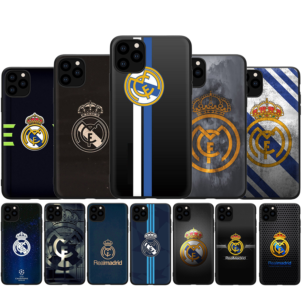 Football Soccer Ball Game LOGO Silicone phone case for iphone 5 5s SE 2020 6 6s 7 8 Plus X XR XS 11 Pro Max