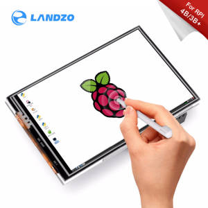 Raspberry Pi 3.5 inch Touch Screen TFT LCD Designed for Raspberry Pi 4 Model B /3B+/3B, 125MHz High-Speed SPIi,480x320PX, XPT204